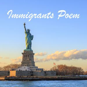 Immigrants Poem Cover Art